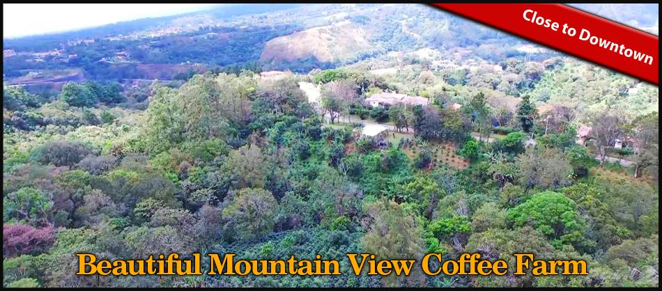 Residencial en venta en/de Beautiful Mountain View Property and Coffee Farm for Sale in Boquete, Jaramillo, Boquete, Panama, Boquete, Chiriquí   , Panamá