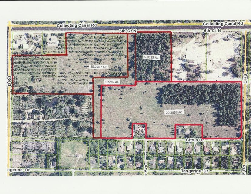 Tierras/terrenos en venta en/de 322 D Road, Loxahatchee Groves, Florida ,33470  , EUA