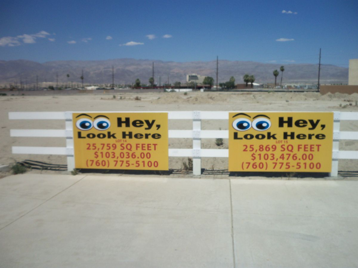 Tierras de uso comercial en venta en/de Lot 14 Commerce St., Indio, California   , EUA