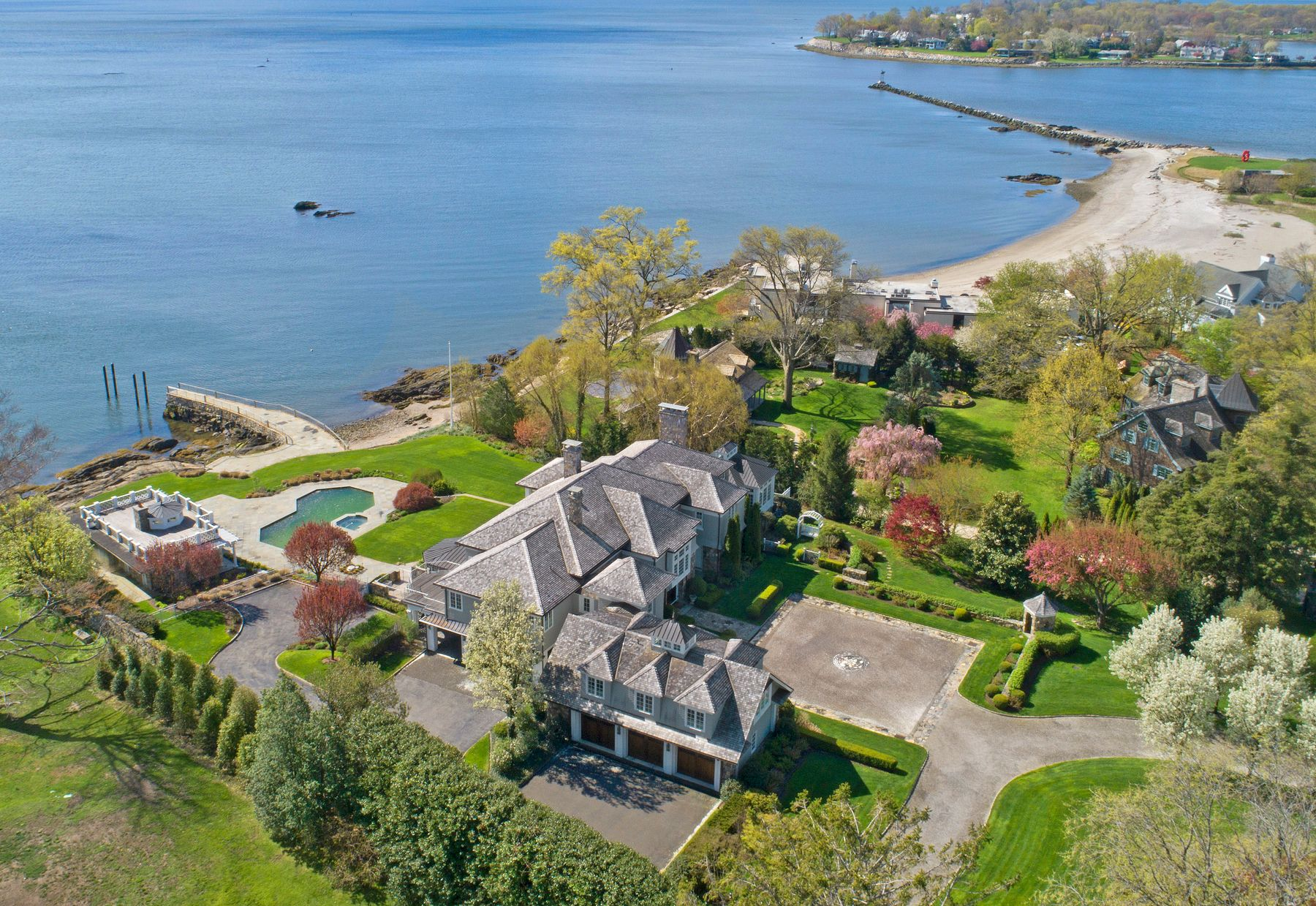 Casa unifamiliar en venta en/de 215 Byram Shore Road, Greenwich, Connecticut ,06830  , EUA