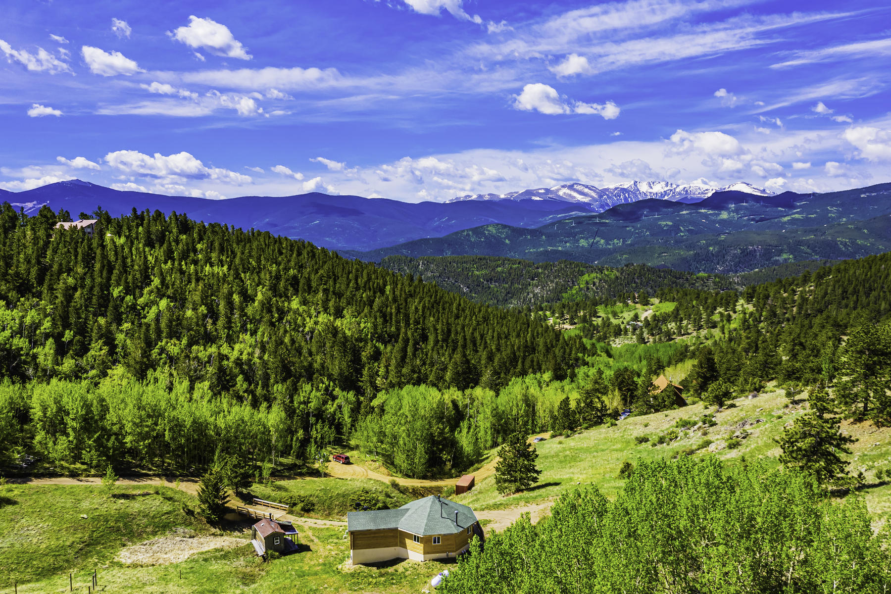 Casa unifamiliar en venta en/de 481 Red Tail Ridge Road, Idaho Springs, Colorado ,80452  , EUA