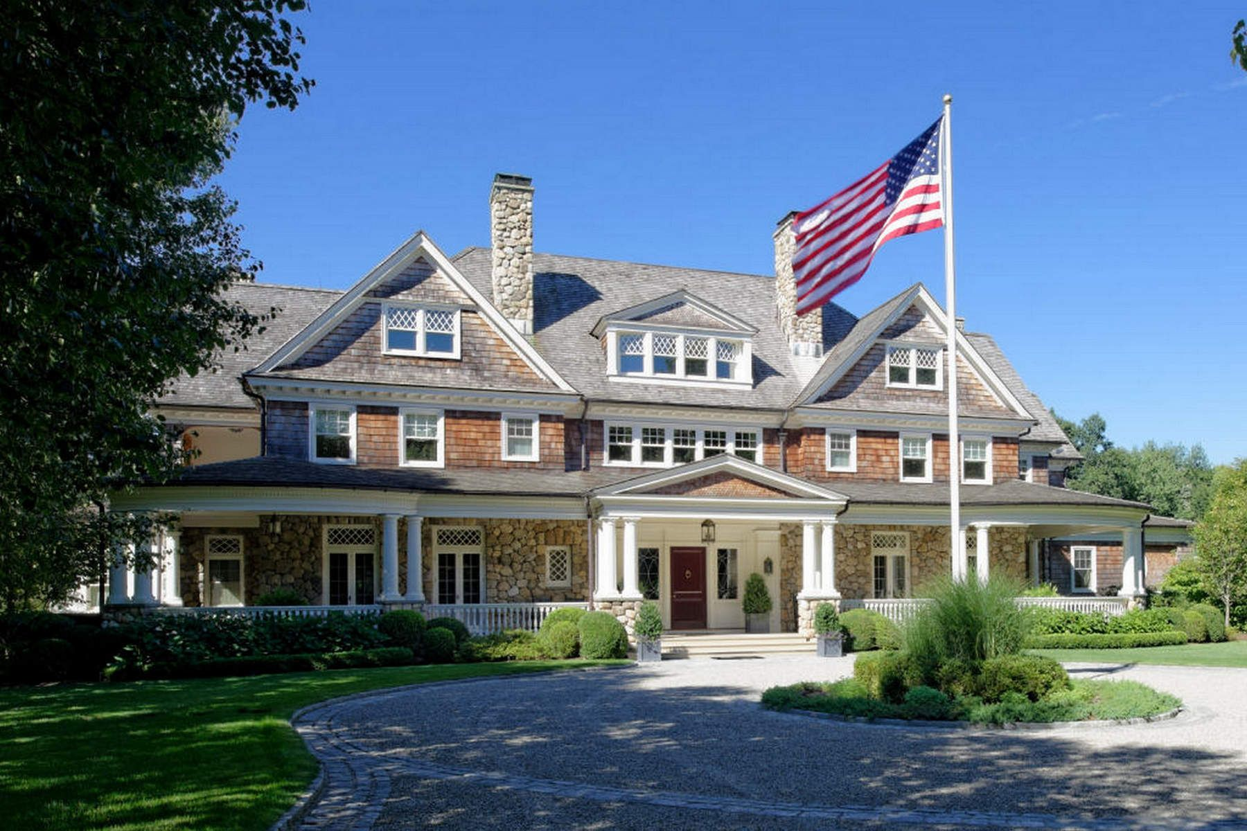 Casa unifamiliar en venta en/de 586 Round Hill Road, Greenwich, Connecticut ,06831  , EUA
